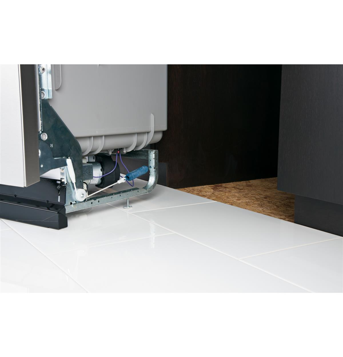 "Great for 34"" counter top heights and raised subfloors"