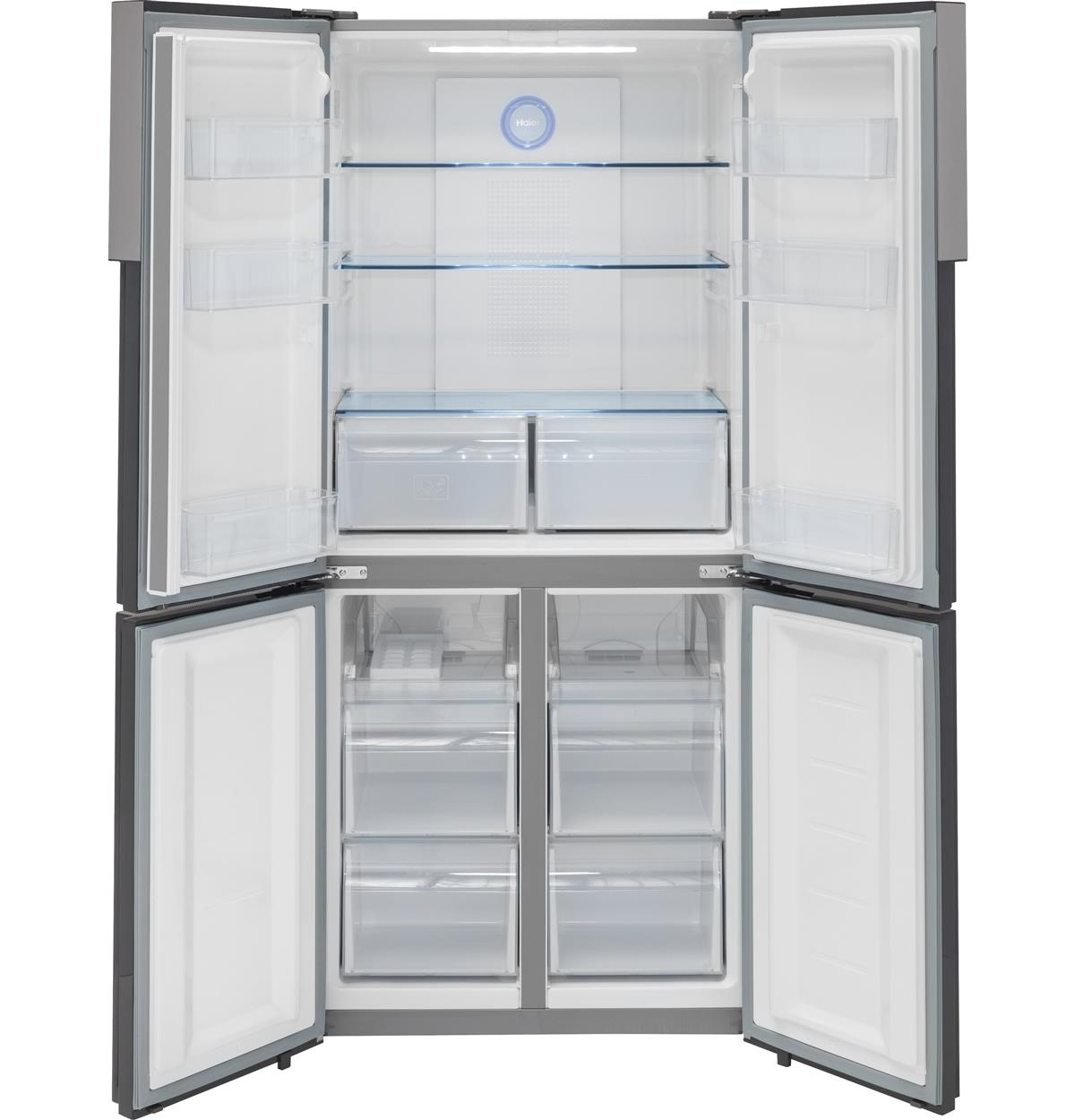 Stainless Bottom-Freezer HRQ16N3BGS Un-installed/free-standing