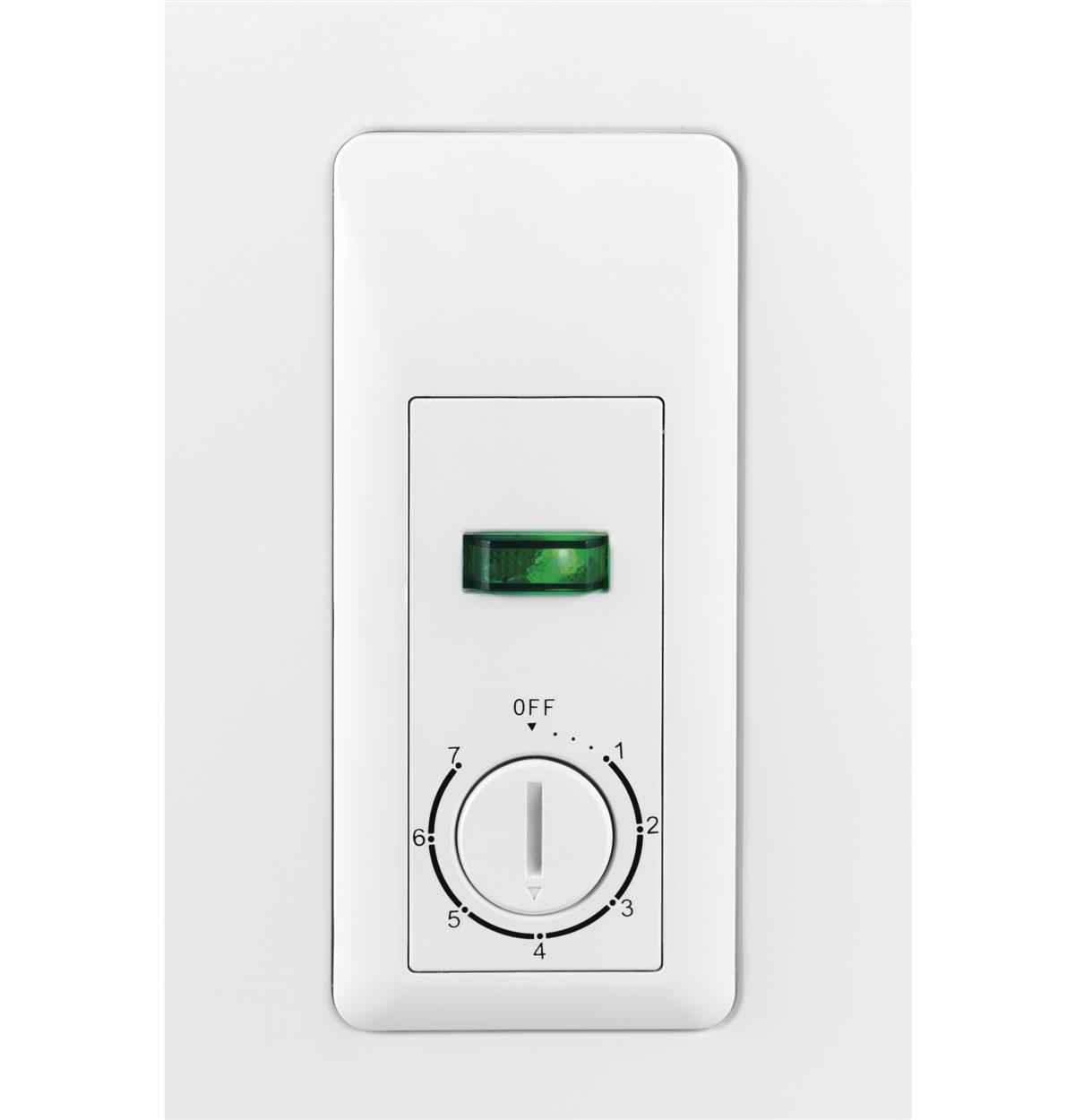 White Chest HF71CM33NW Control Panel