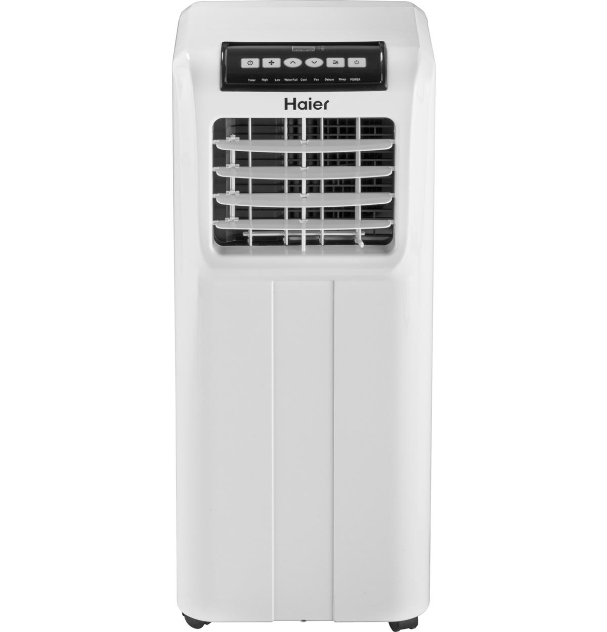 Hpp08xcr Portable Air Conditioner Haier Appliances Installing Electric Fan On A C3 White Un Installed Free Standing