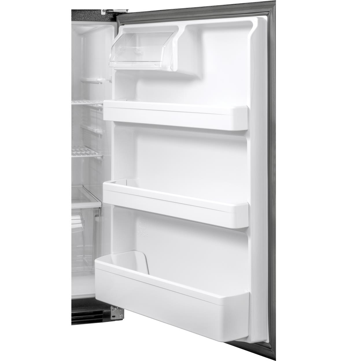 White Top-Freezer HRT18RCWW Feature Photos