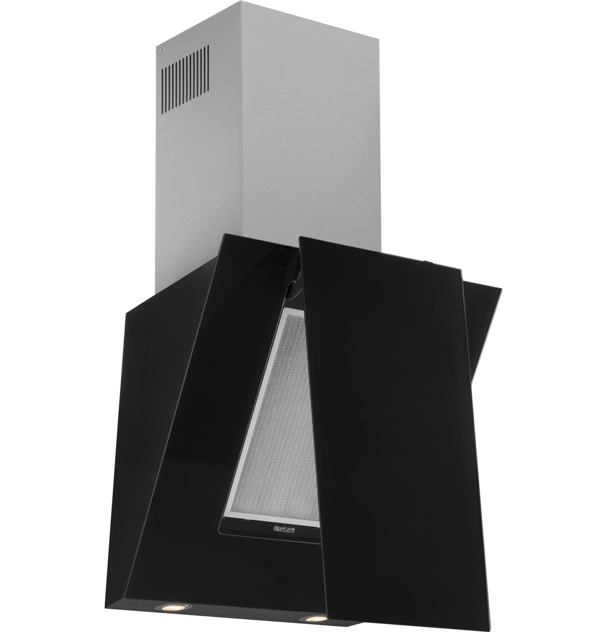 Black Wall-Mount Hoods HCH2400ACB Un-installed/free-standing