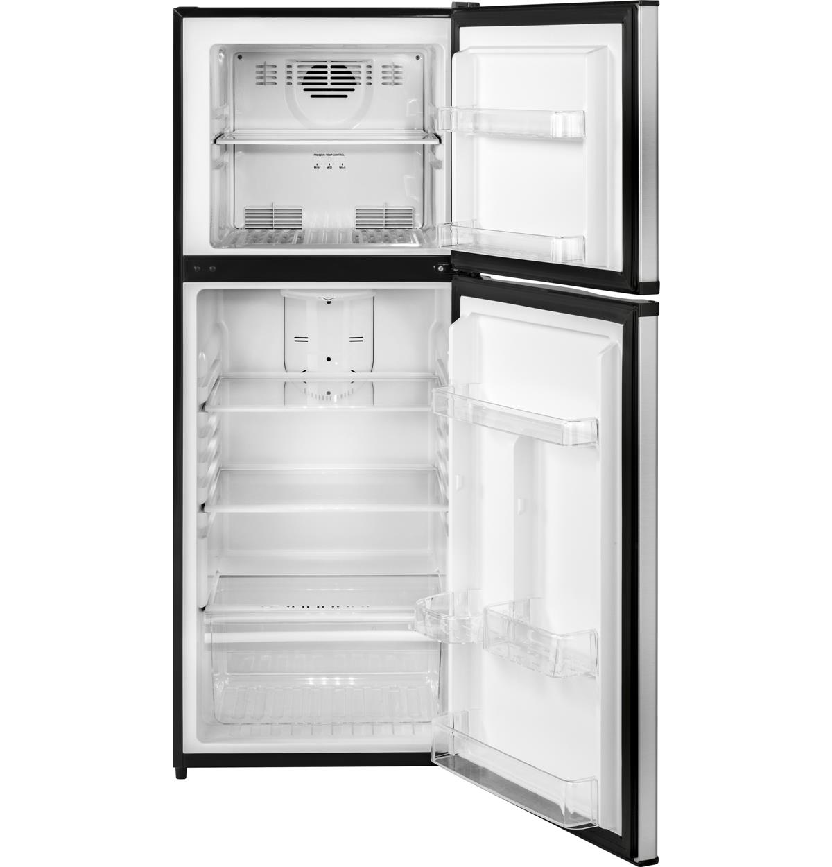 Stainless Top-Freezer HA12TG21SS Un-installed/free-standing