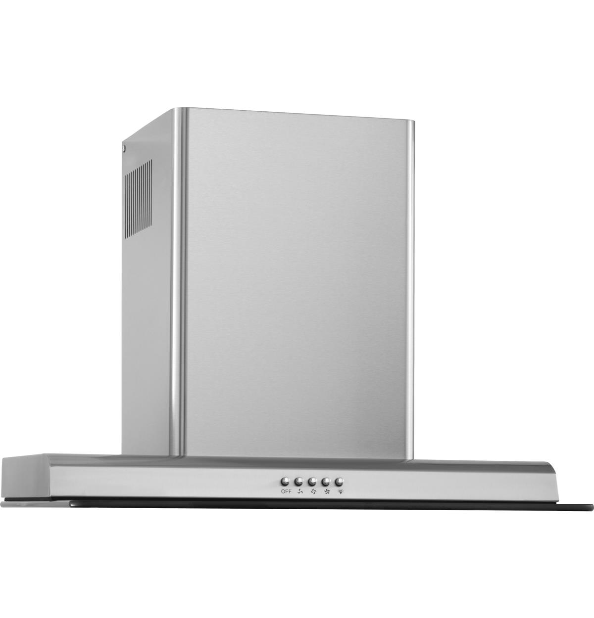 Stainless Wall-Mount Hoods HCH2100ACS Un-installed/free-standing