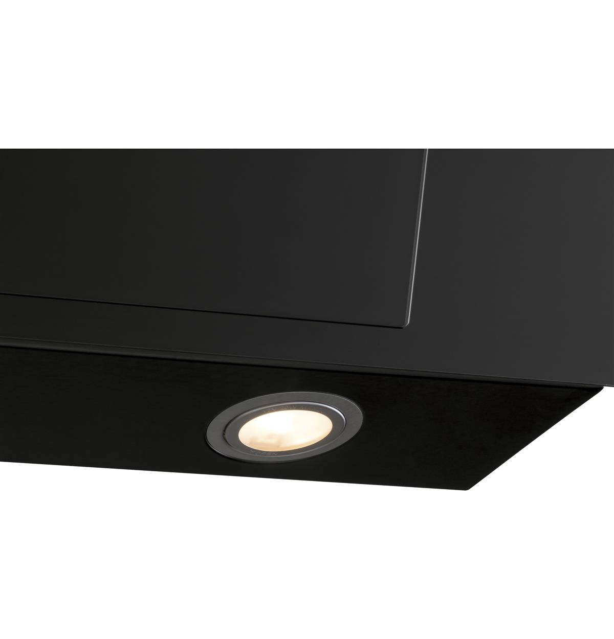 Black Wall-Mount Hoods HCH2400ACB Feature Photos