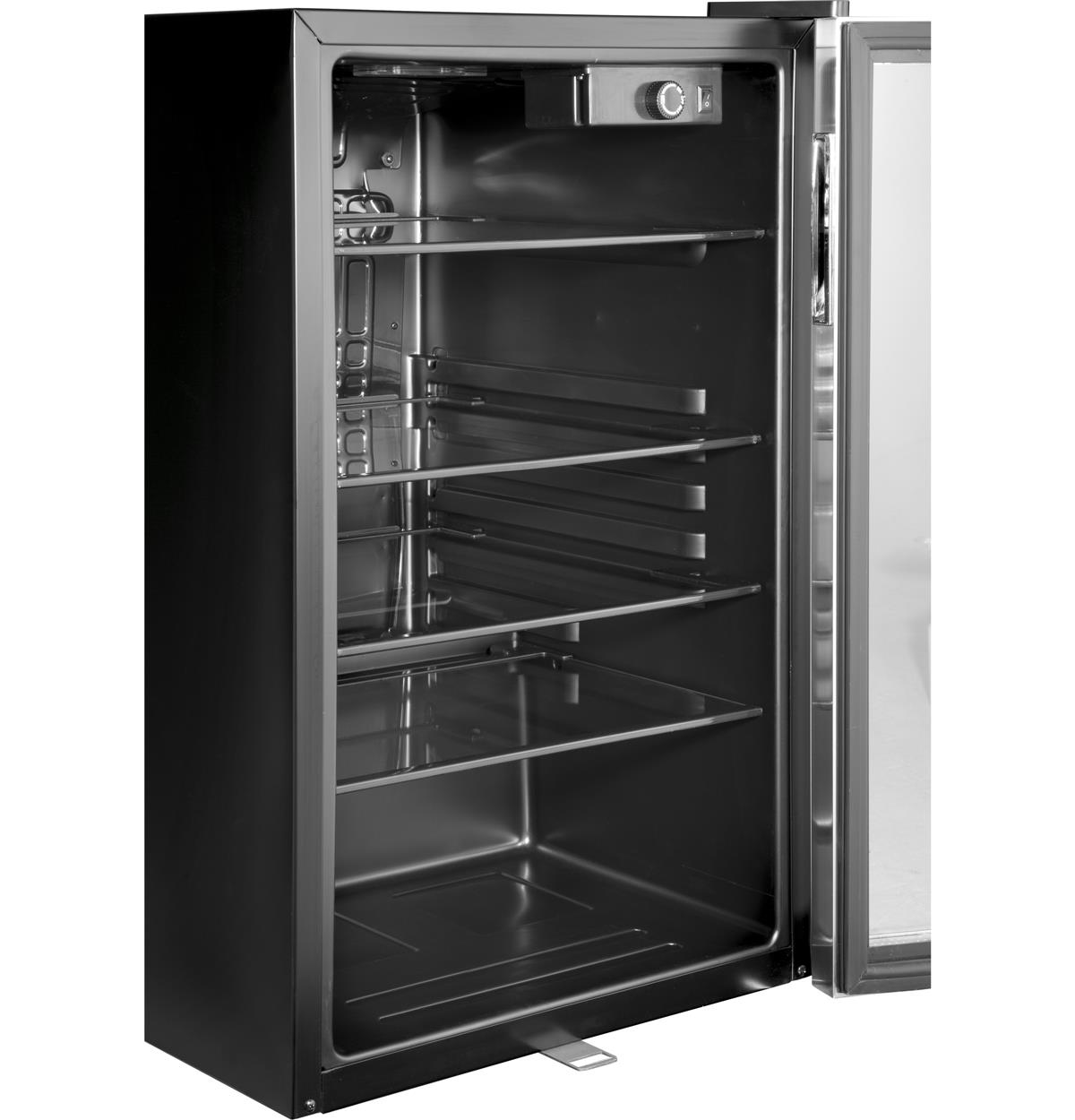 Stainless Wine Reserves & Beverage Centers HEBF100BXS Un-installed/free-standing