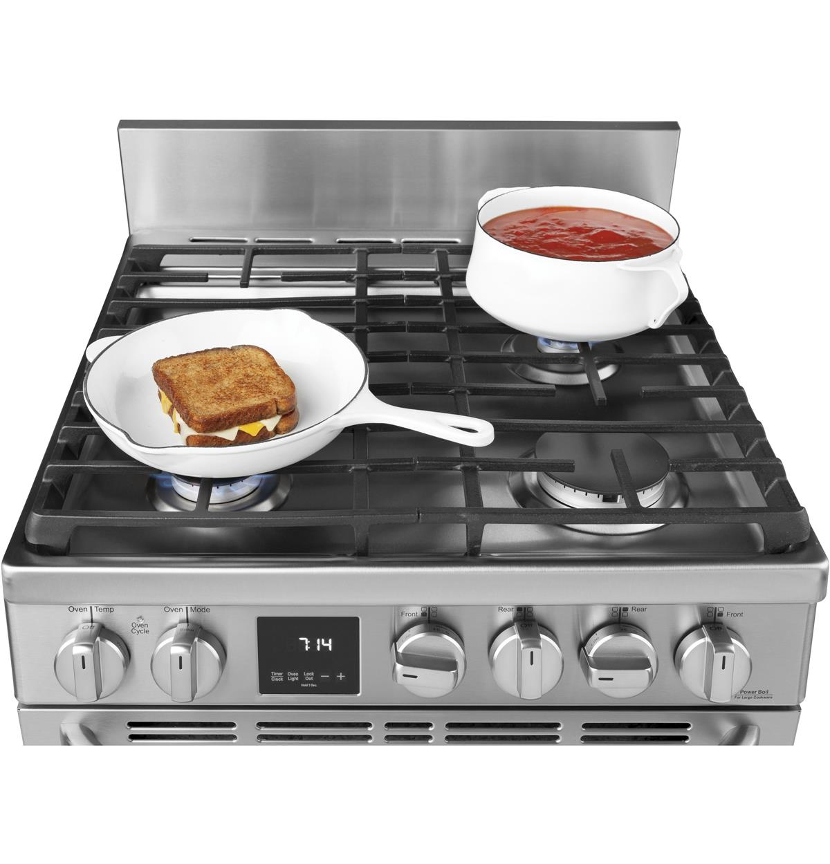 Allows easy movement of cookware while providing even heat distribution with better heat retention