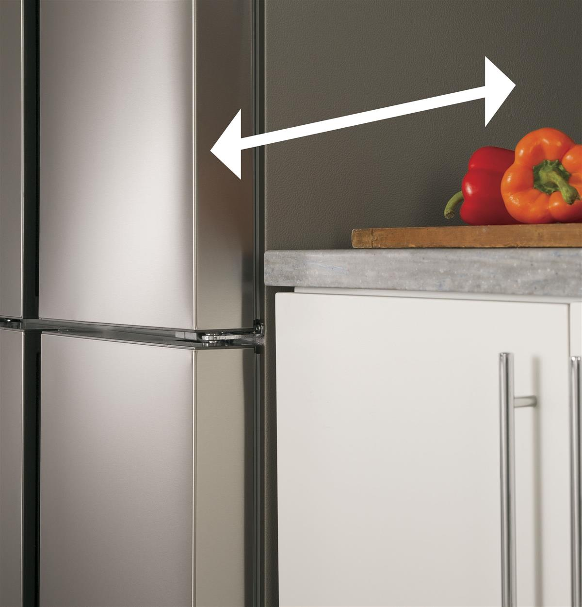 Stainless Bottom-Freezer HRQ16N3BGS Feature Photos