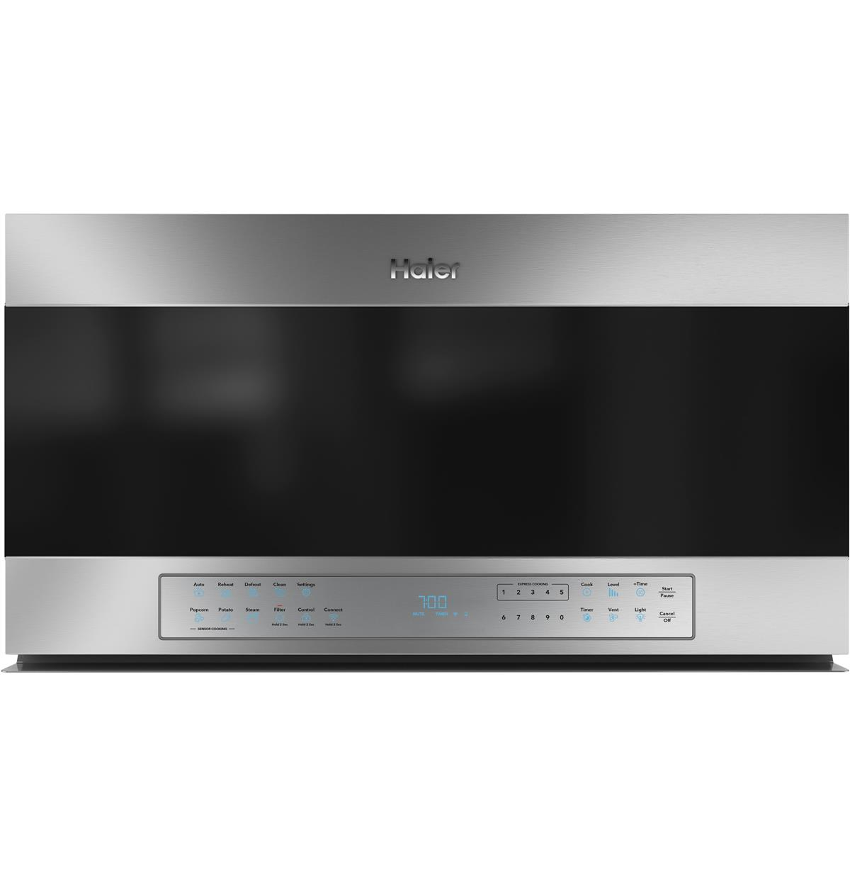 Stainless Over-the-Range QVM7167RNSS Un-installed/free-standing