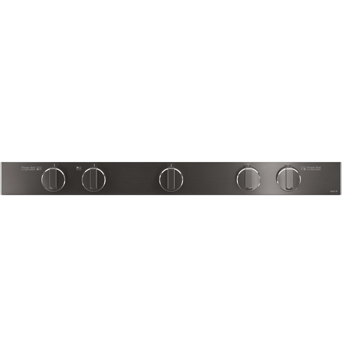 Black Stainless  QGSS740BNTS Control Panel