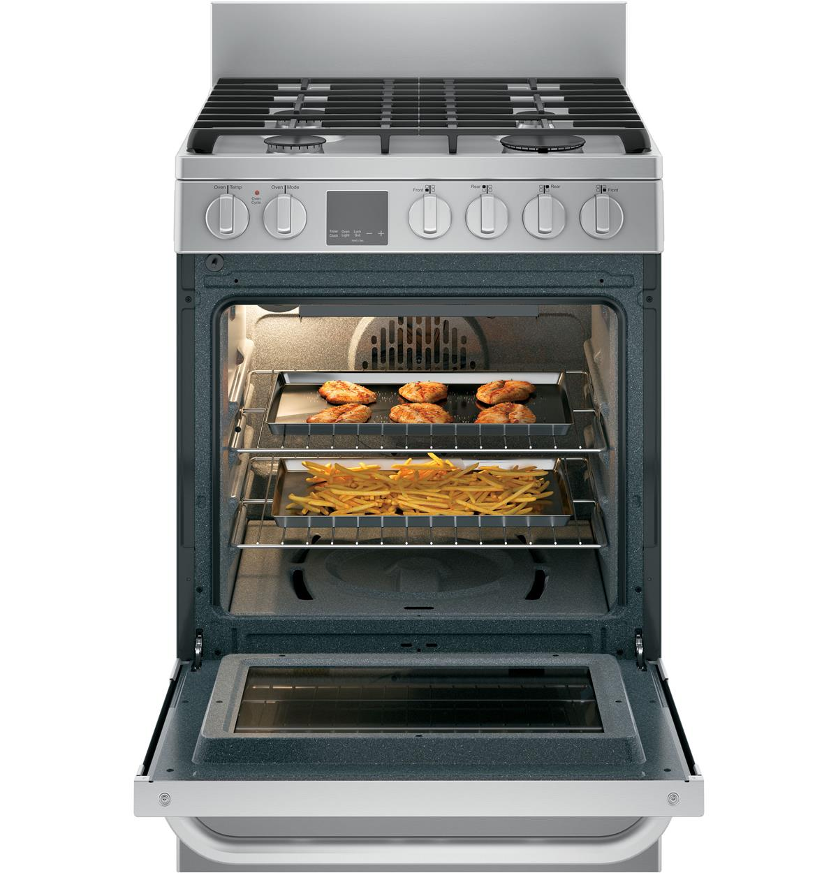 Stainless Free-Standing Ranges QGAS740RMSS Un-installed/free-standing