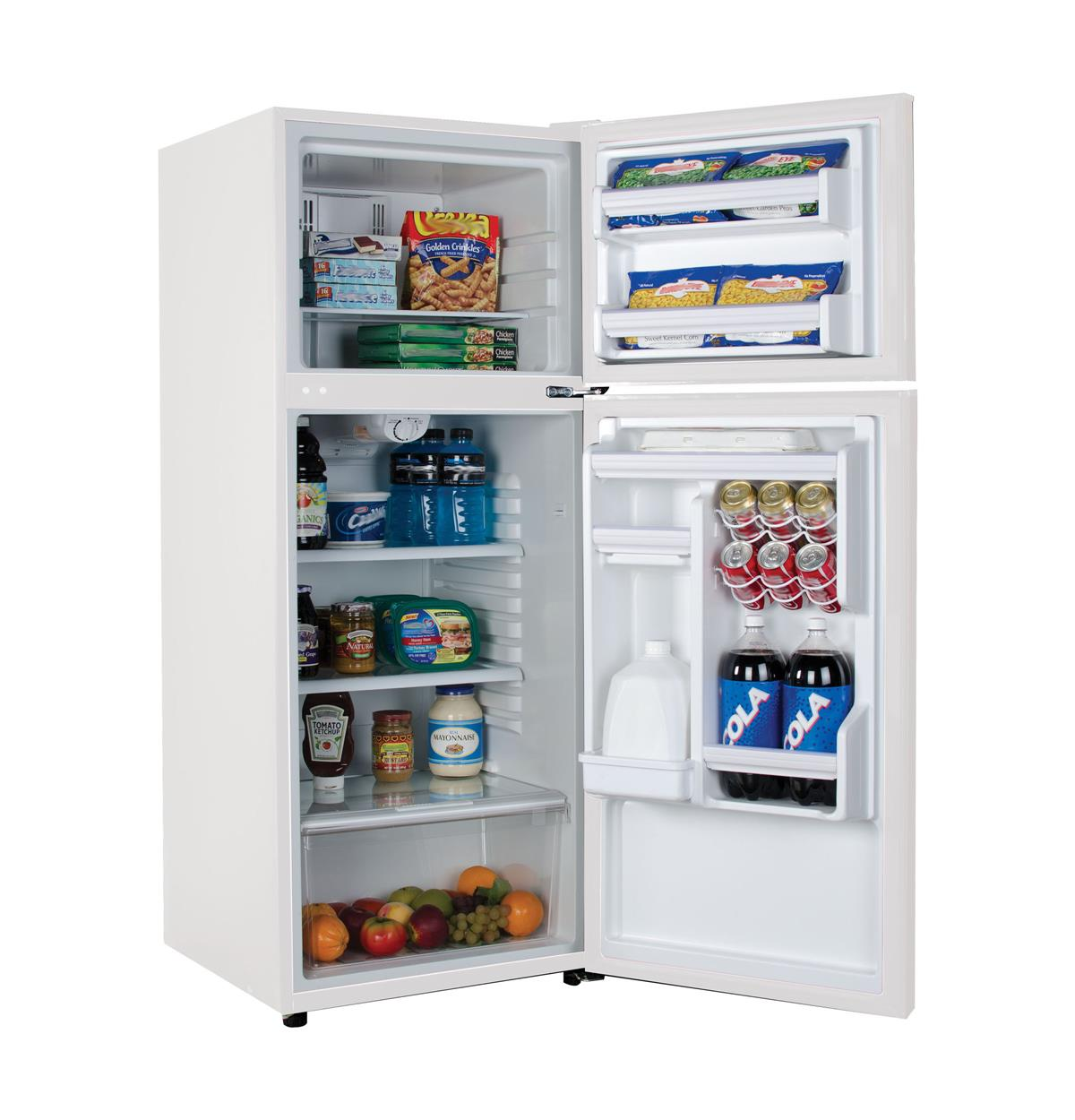 Ha10tg31sw 10 1 Cu Ft Top Freezer Refrigerator Haier
