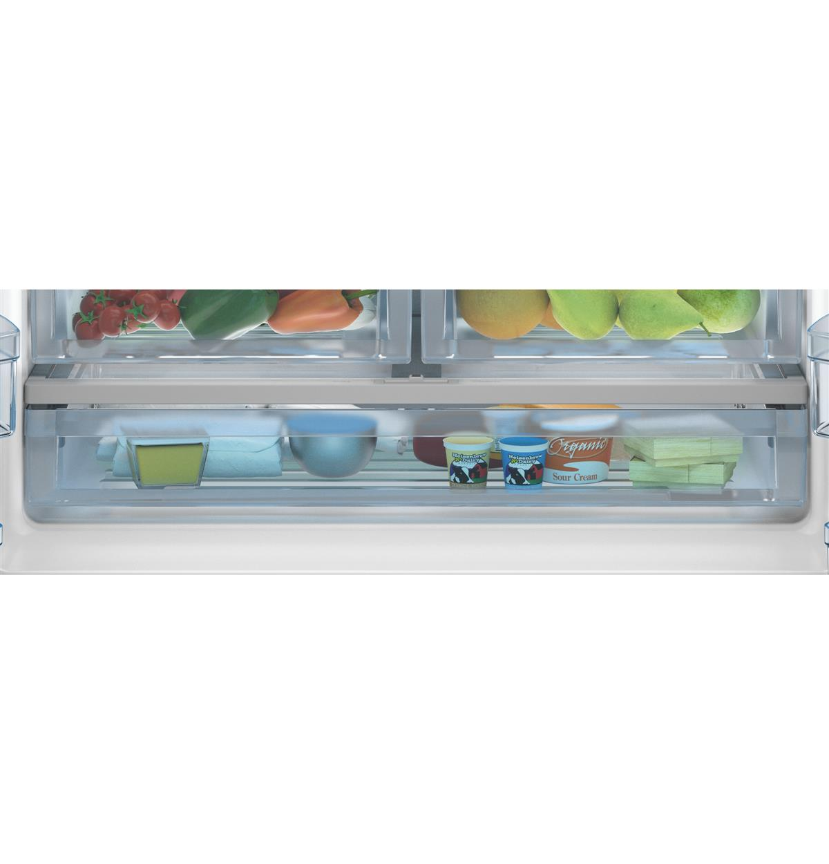 Stainless Steel Bottom-Freezer QNE27JSMSS Feature Photos