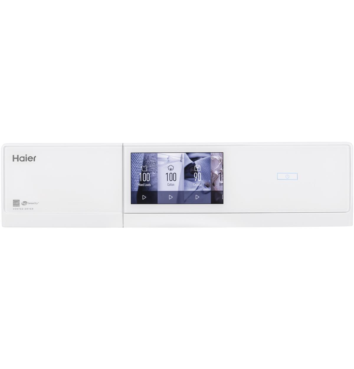 White Electric QFD15ESSNWW Control Panel