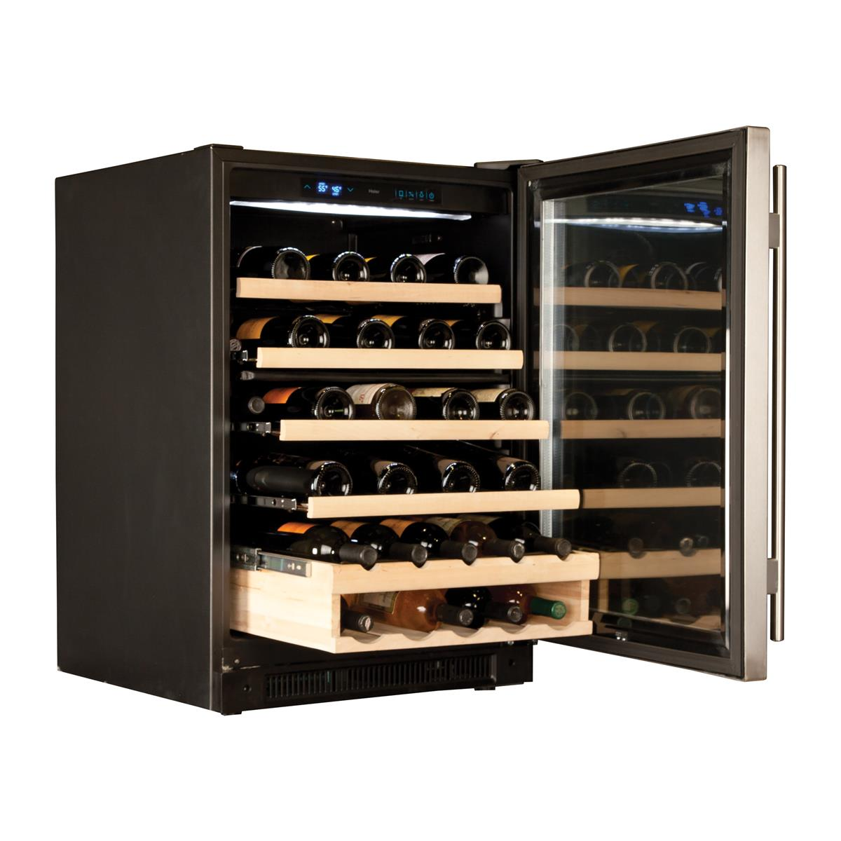 Black Wine Reserves & Beverage Centers WC200GS Un-installed/free-standing