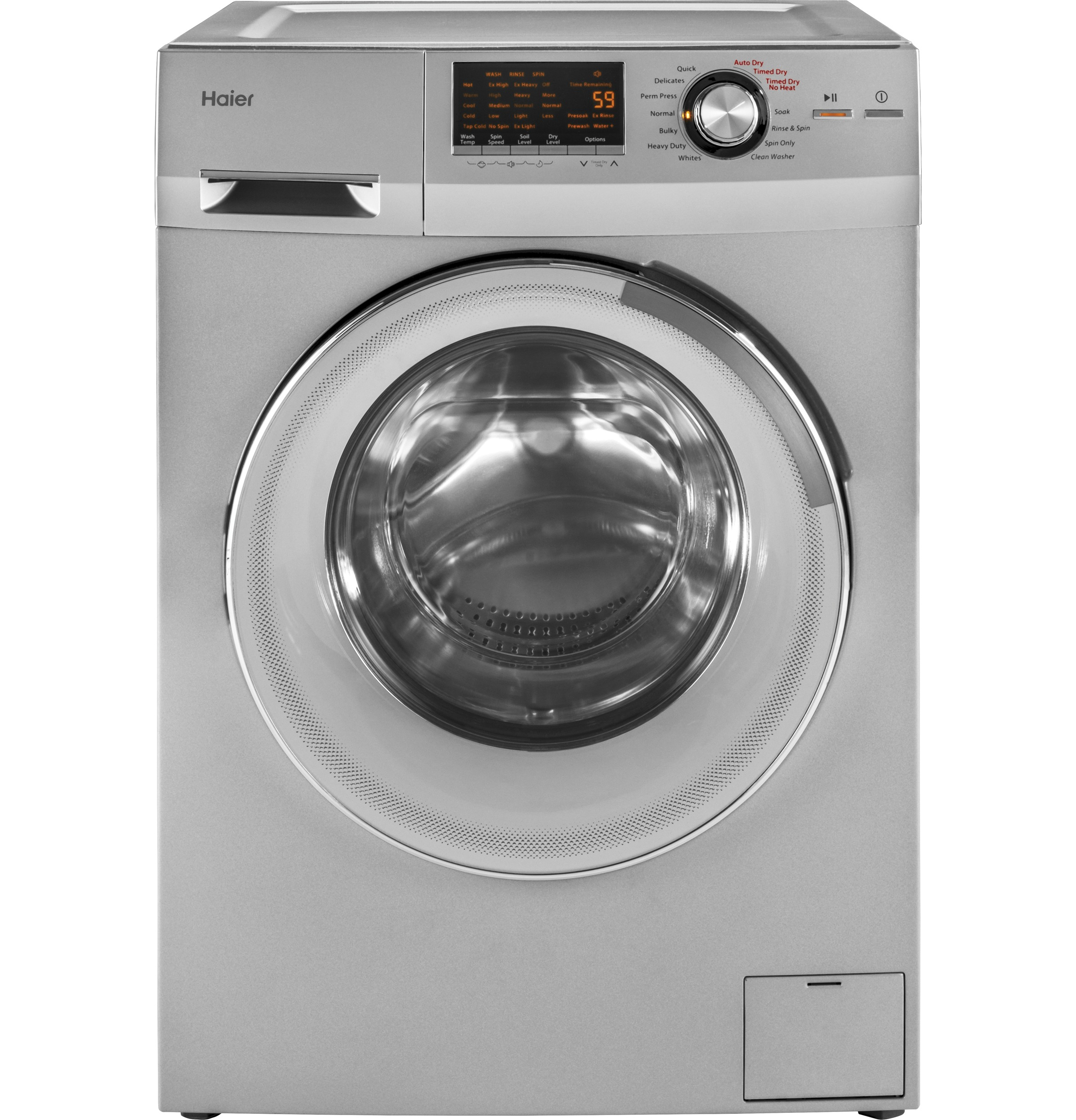 Hlc1700axs 24 Quot 2 0 Cu Ft Front Load Washer Dryer Combo