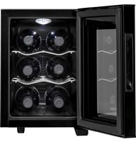 Black Wine Reserves & Beverage Centers HVTEC06ABS Un-installed/free-standing
