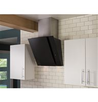 Black Wall-Mount Hoods HCH2400ACB Installed