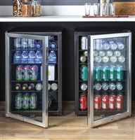Stainless Wine Reserves & Beverage Centers HEBF100BXS Installed