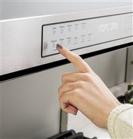Stainless Over-the-Range QVM7167RNSS Control Panel