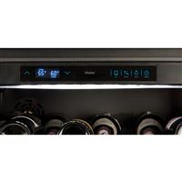 Black Wine Reserves & Beverage Centers WC200GS Control Panel